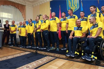 Ukraine wins gold medal at Invictus Games