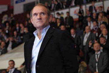 Zelensky enacts NSDC decision on sanctions against Medvedchuk