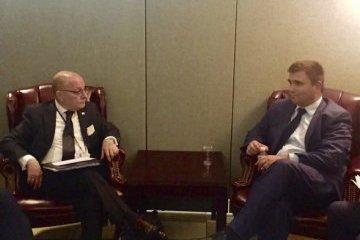 Pavló Klimkin se reúne con el ministro de Relaciones Exteriores y Culto de la Argentina