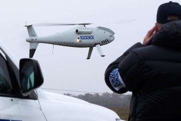 Les mercenaires russes ont de nouveau tiré sur un drone de l'OSCE