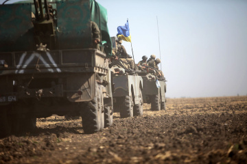 Militants launched 29 attacks on Ukrainian troops in Donbas in last day