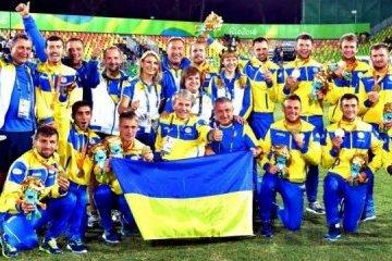 乌克兰足球残奥会代表队赢得足球世界杯冠军