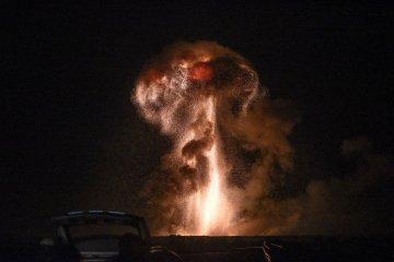 Les vidéos des explosions dans les dépôts de munitions à Kalynivka