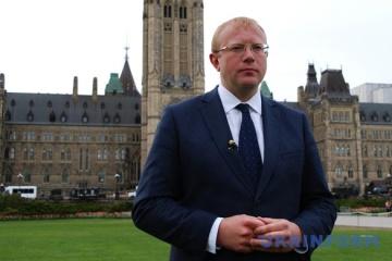 Embajador Shevchenko: Ucrania compra rifles de francotirador canadienses