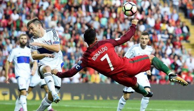 Бельгія, Португалія, Франція розгромили суперників у відборі на мундіаль-2018