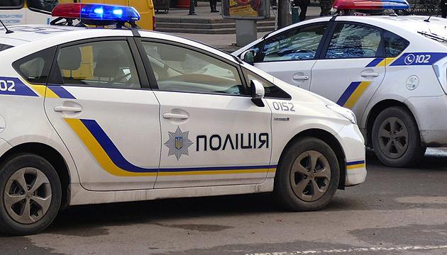 У Києві поліцейське авто зіткнулося з Audi