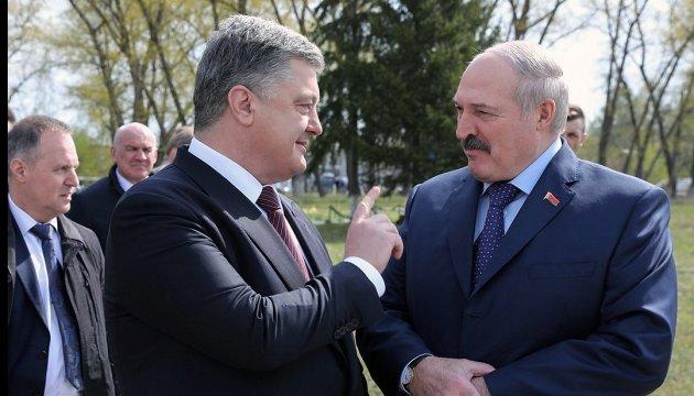 Poroschenko und Lukaschenko sprechen über Zusammenarbeit in Wirtschaft und Kultur
