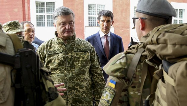 Zapad 2017 drills a threat to Ukraine - Poroshenko