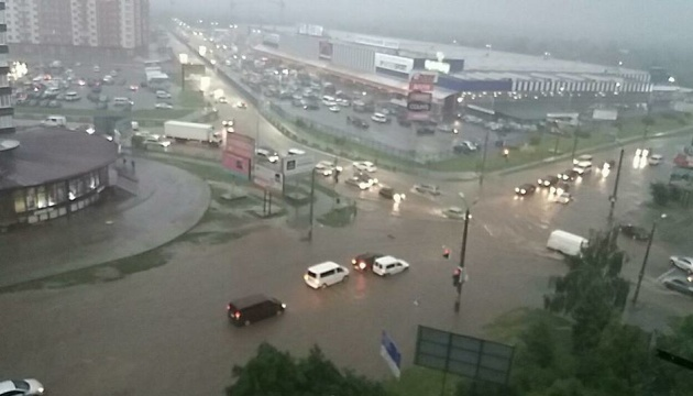 Weather forecasters warn Ukrainians of thunderstorms and hail