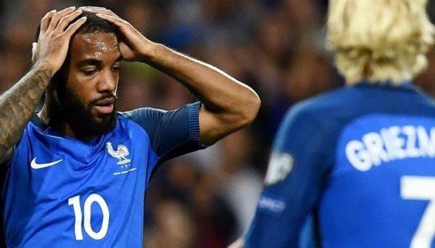 Франція не змогла забити Люксембургу
