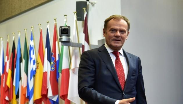 Туск збере Європейську Раду обговорити майбутнє Brexit-угоди