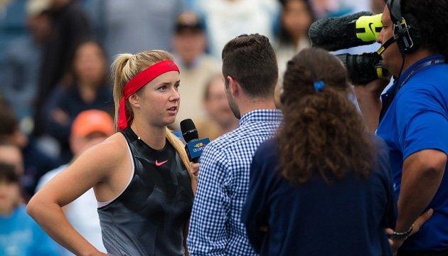 Світоліна: Я вже другий тиждень на US Open і пишаюся своїм виступом