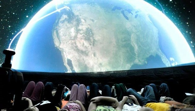 В Запорожье открылся детский планетарий