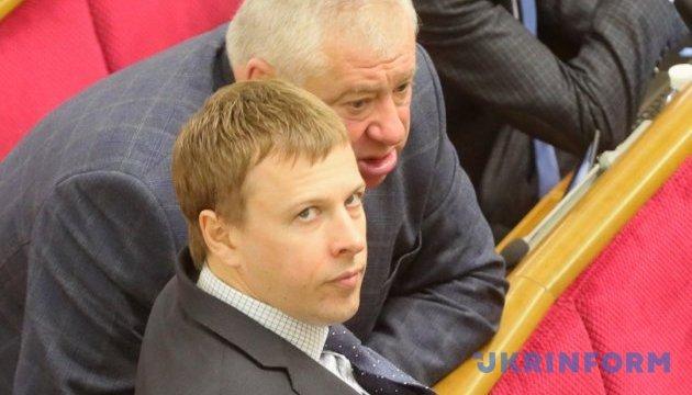 Хомутиннік більше не очолює депутатську групу