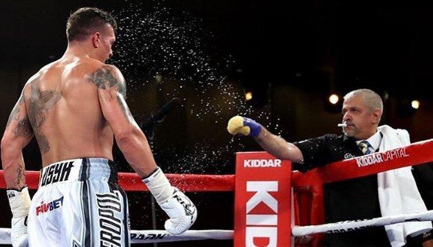 Красюк: Усик не звик до про-американського підходу в боксі