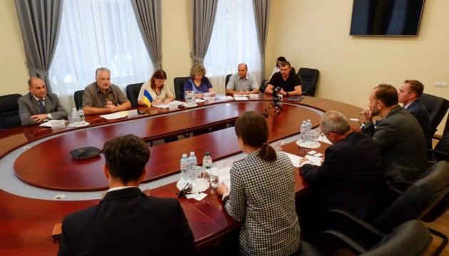 Zhebrivsky discusses situation in Donetsk region with delegation of Canadian Foreign Ministry