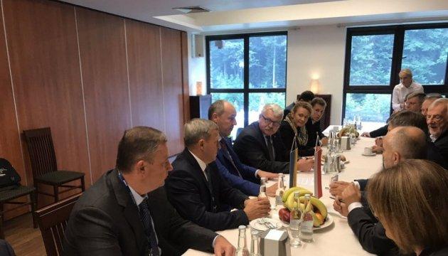 Parlamentschef Parubij trifft sich in Polen mit Sejmmarschall Kuchciński