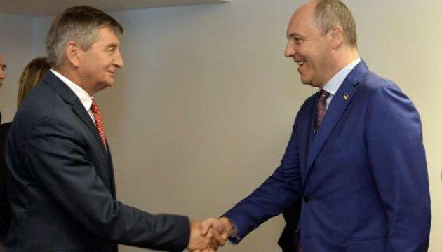 Nord Stream-2: Парубій пропонує маршалку Сейму спільну заяву