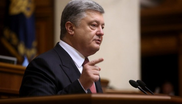 President Poroshenko: Russia gets ready to offensive war on continental scale