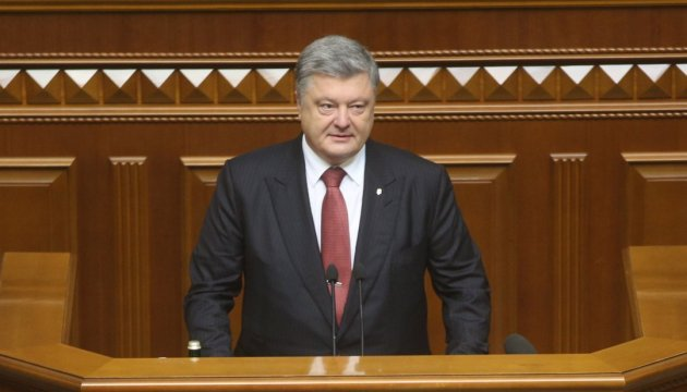 President Poroshenko: Russia's special services use social networks against Ukraine