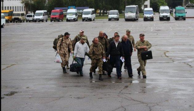 На Чернігівщині розпочалися збори понад 1000 резервістів Сухопутних військ