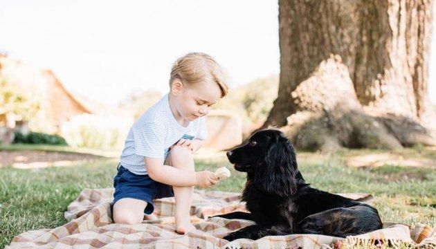 Старшему сыну принца Уильяма и Кейт Миддлтон исполнилось 8 лет