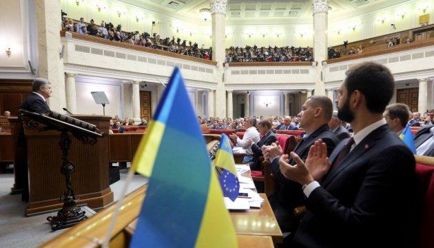 Präsident Poroschenko erwartet 2020 BIP-Wachstum von 4 Prozent