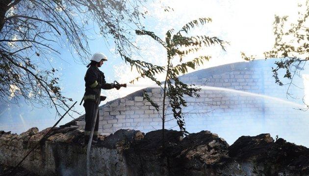 У миколаївській військовій частині сталася пожежа