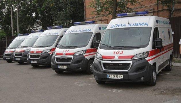 В Днипре появились новые машины скорой помощи