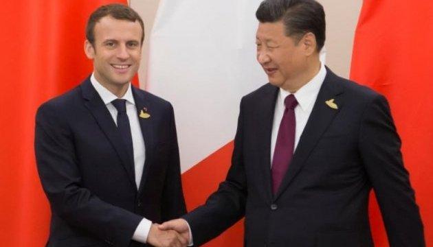 Сі Цзіньпін обговорив північнокорейське питання із президентом Франції