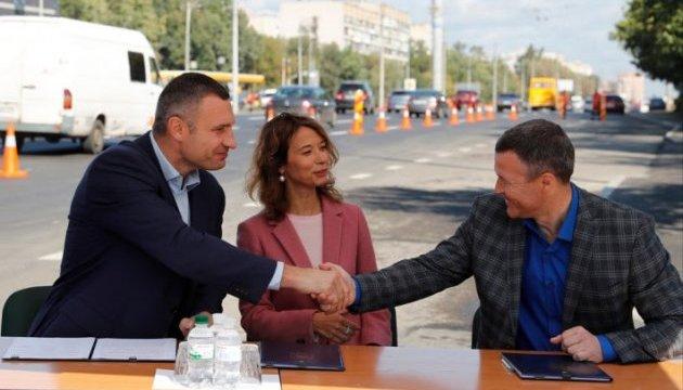 Кличко: Якість і вартість нових столичних доріг моніторитимуть міжнародні експерти