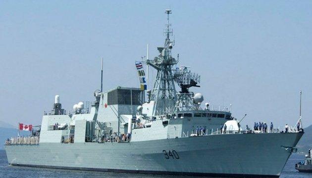 Канада відправила бойовий корабель для допомоги жертвам