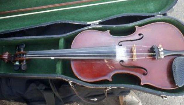 З України намагались незаконно вивезти скрипку, якій понад сто років