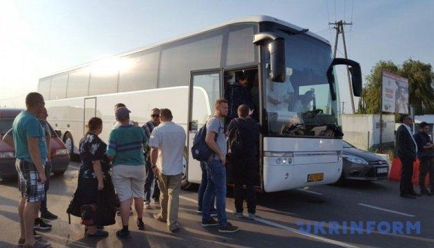 Саакашвілі автобусом приїхав на ПП