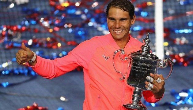 Теніс: Надаль  ушістнадцяте виграв турнір Великого Шлема