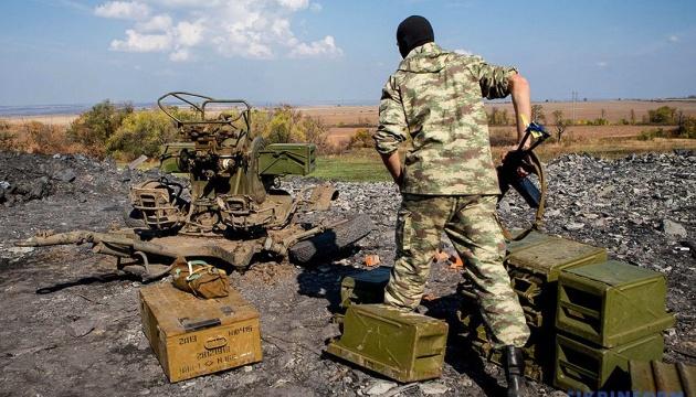 ATO-Stab meldet 53 feindliche Angriffe im Donbass