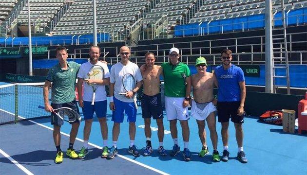 Чоловіча збірна України в Ізраїлі розпочала підготовку до Кубка Девіса