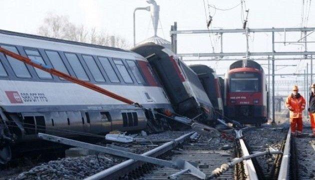 У Швейцарії зіткнулися два потяги: постраждало близько 30 людей