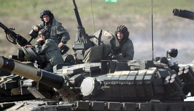 Le meilleur peloton de chars ukrainien a été nommé à Tchernigiv (photos, vidéo)