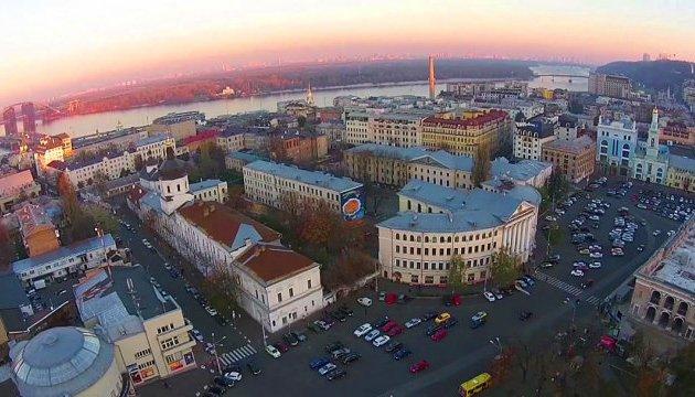 Осквернена земля: Київський Поділ