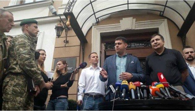 Саакашвілі заявив, що не об'єднуватиметься із жодними політсилами