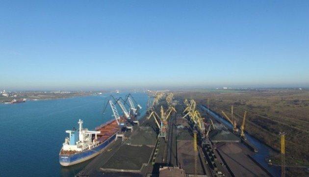 Erstes Kohleschiff aus den USA schon in der Ukraine