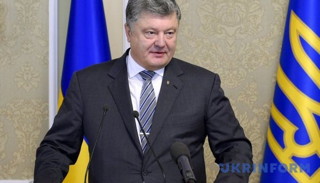 Poroshenko, OSCE Secretary General coordinate approaches to UN peacekeepers in Donbas