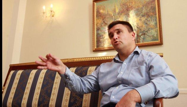 Климкин: Разговор с Россией возможен только с позиции силы