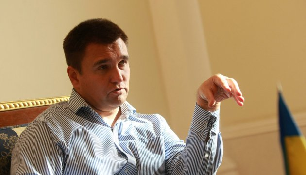 Ukraine wants the same role for Ukrainian language as Hungarian has in Hungary - Klimkin