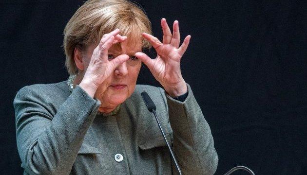 Паника на мировых биржах беспокоит Меркель