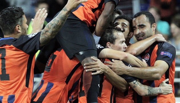 Shakhtar Donetsk a battu Naples en Ligue des champions (photos)