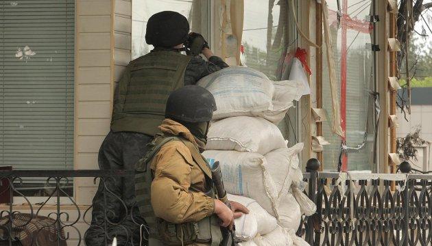 La situation dans le Donbass : les milices pro-russes utilisent des mortiers, interdits par les accords de Minsk