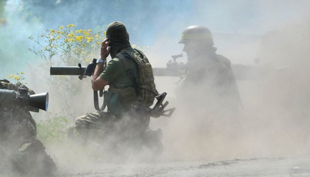 One Ukrainian soldier wounded in Donbas