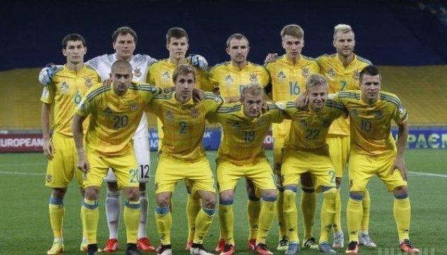 Україна піднялася на 24 місце рейтингу ФІФА